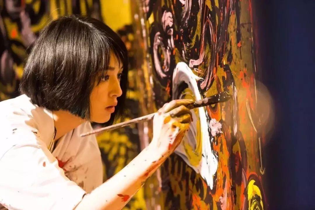 """""""狂野少女""""绘画堪比毕加索 林俊杰都为她做专属音乐插图1"""