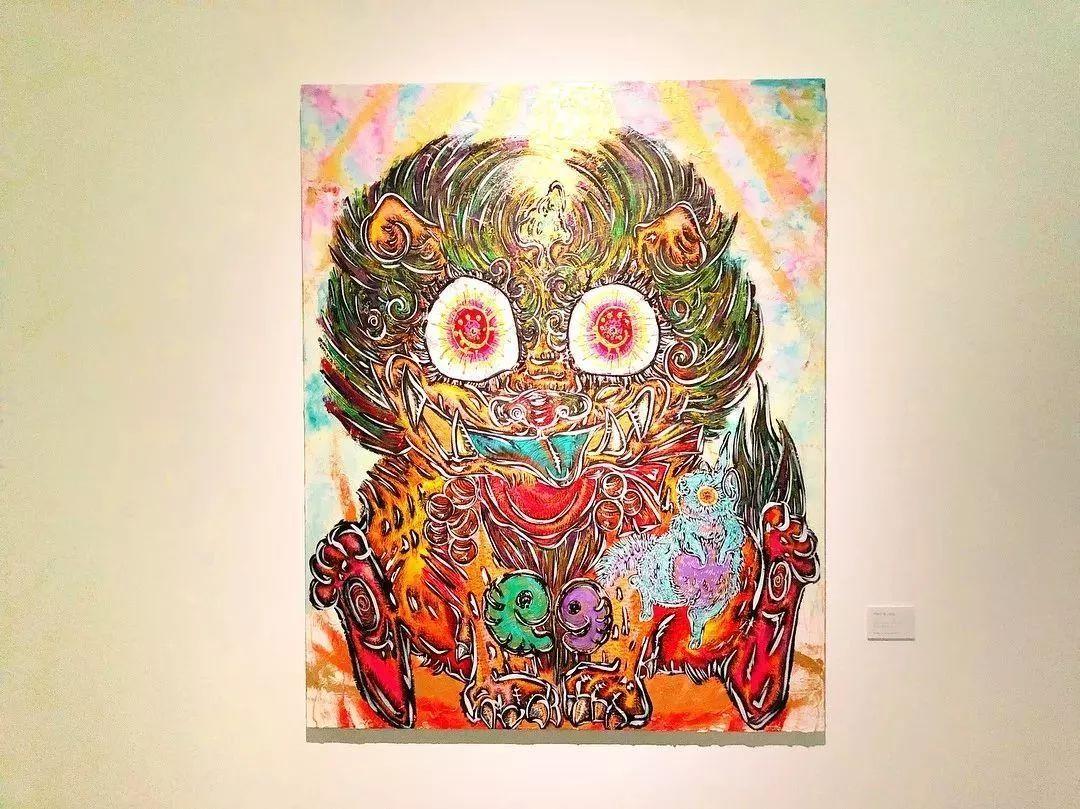 """""""狂野少女""""绘画堪比毕加索 林俊杰都为她做专属音乐插图51"""