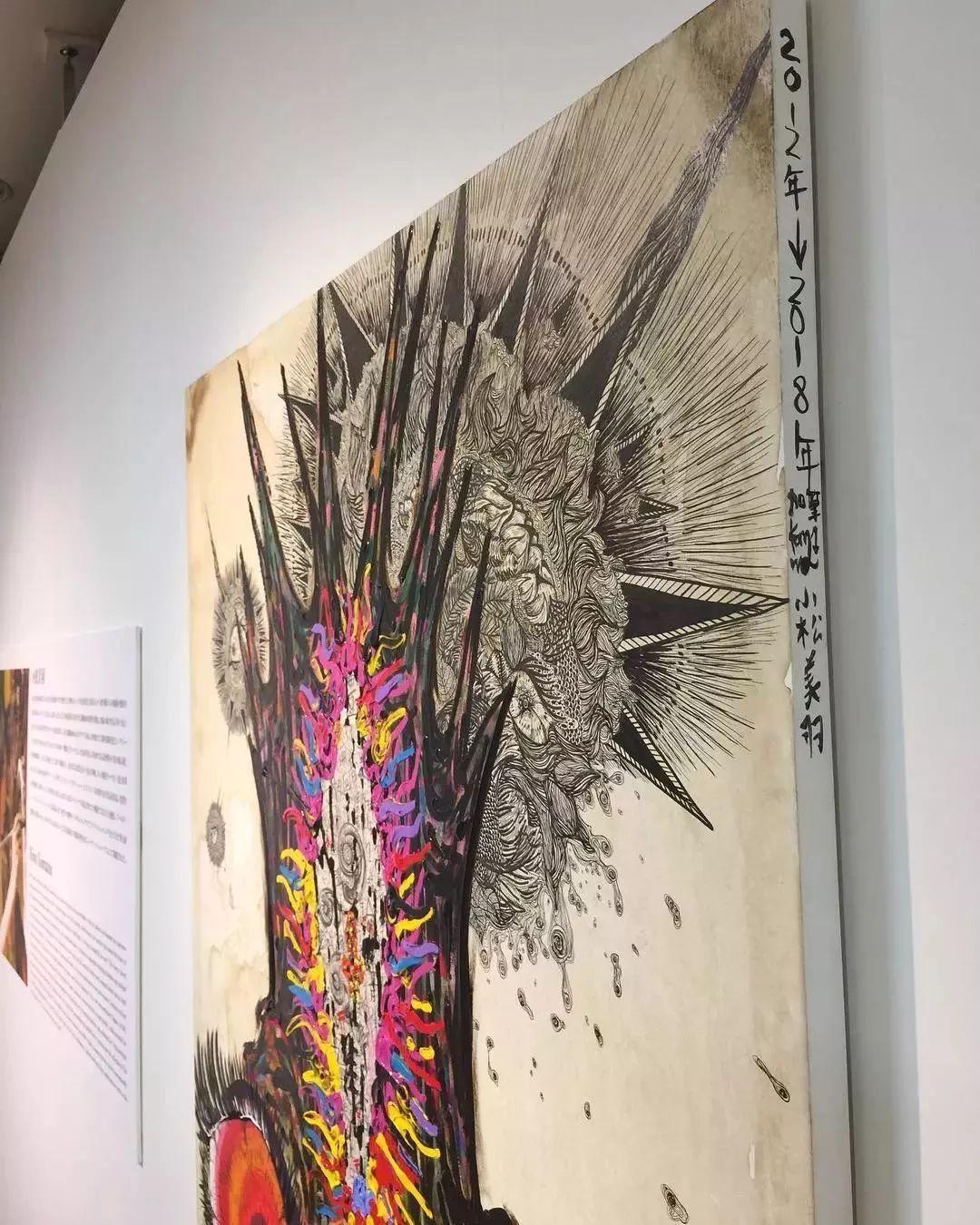 """""""狂野少女""""绘画堪比毕加索 林俊杰都为她做专属音乐插图87"""
