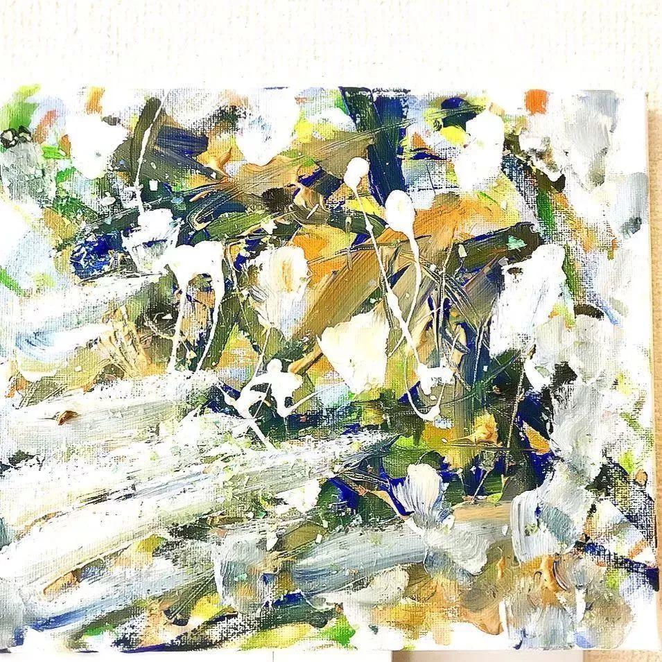 """""""狂野少女""""绘画堪比毕加索 林俊杰都为她做专属音乐插图115"""