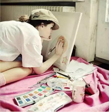 生个女儿就让她学画画吧,从此她的人生是这样的……插图41