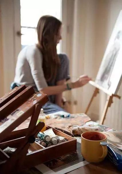 生个女儿就让她学画画吧,从此她的人生是这样的……插图51