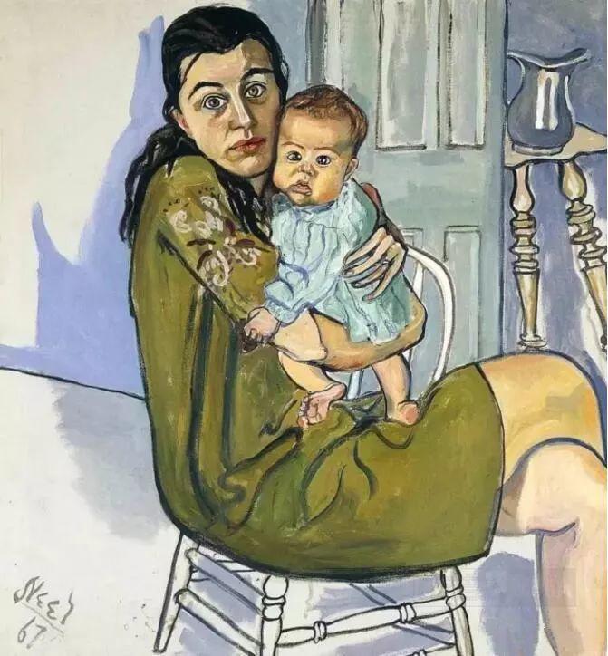 她被誉为女版弗洛伊德——爱丽丝·尼尔插图15