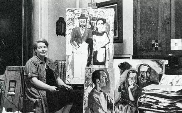 她被誉为女版弗洛伊德——爱丽丝·尼尔插图35