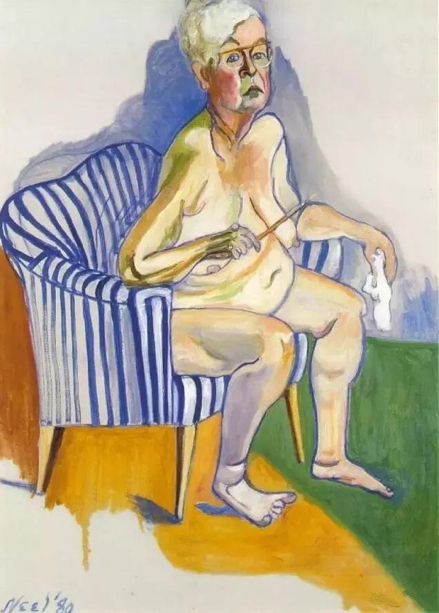 她被誉为女版弗洛伊德——爱丽丝·尼尔插图37