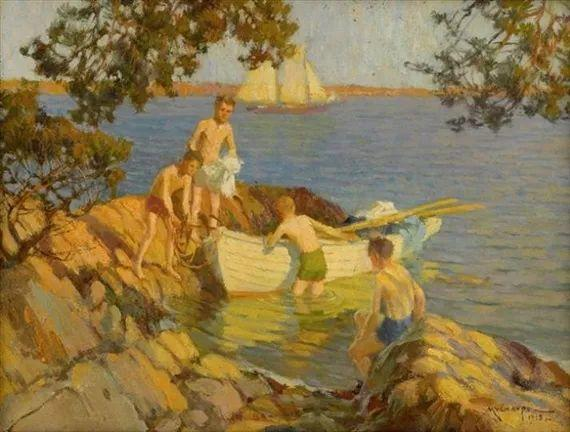 美国画家Frederick J. Mulhaupt插图4