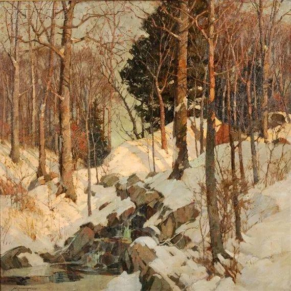 美国画家Frederick J. Mulhaupt插图6