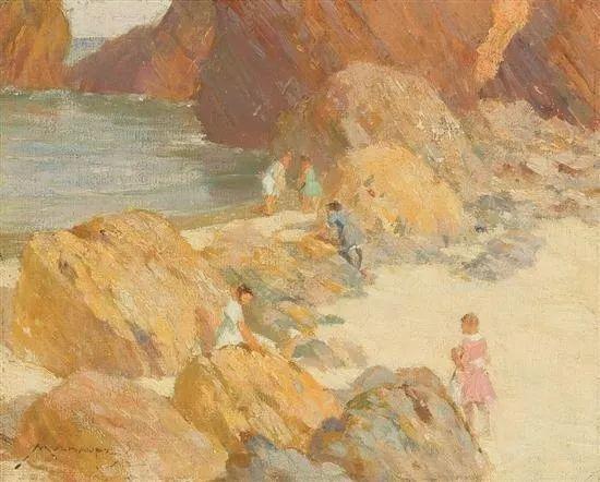 美国画家Frederick J. Mulhaupt插图9