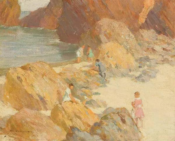 美国画家Frederick J. Mulhaupt插图14