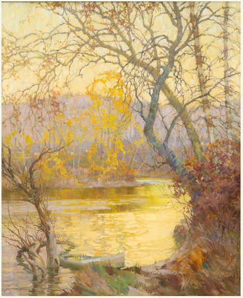 美国画家Frederick J. Mulhaupt插图15