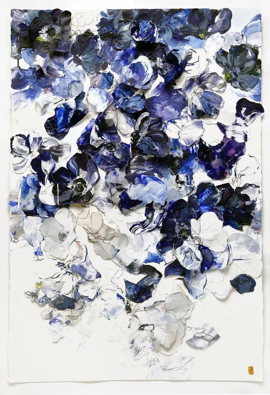 她一生爱花,惜花,种花,一辈子都在画花插图3