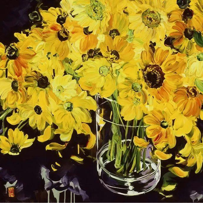 她一生爱花,惜花,种花,一辈子都在画花插图5