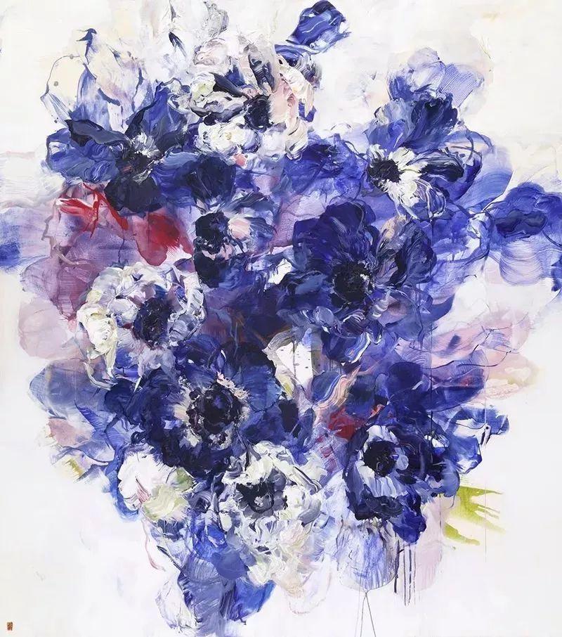 她一生爱花,惜花,种花,一辈子都在画花插图27