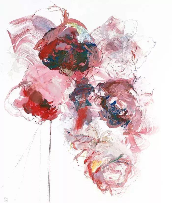 她一生爱花,惜花,种花,一辈子都在画花插图31