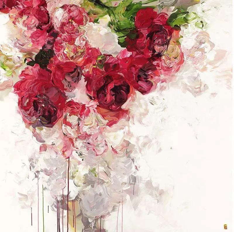 她一生爱花,惜花,种花,一辈子都在画花插图35