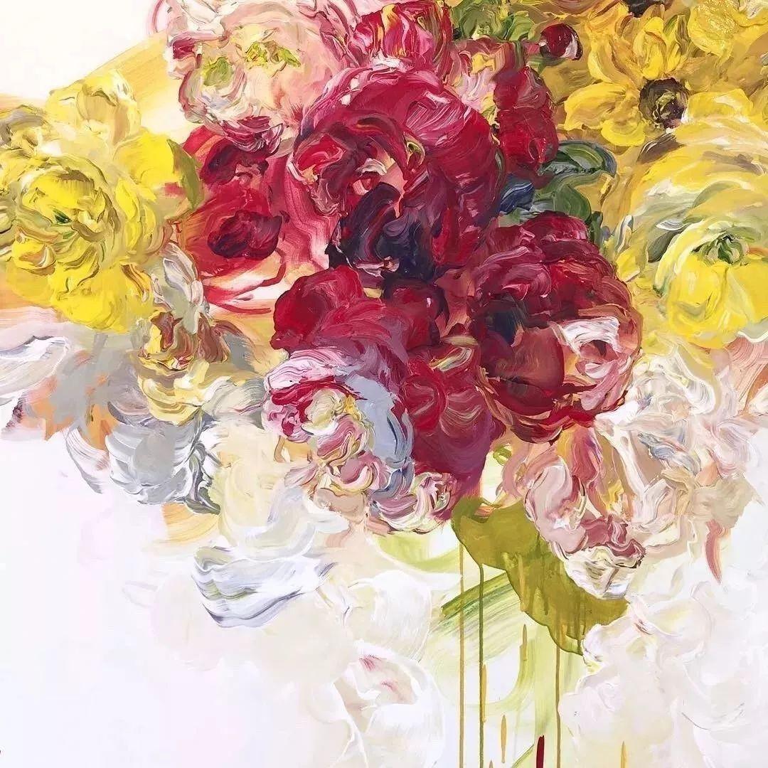 她一生爱花,惜花,种花,一辈子都在画花插图37