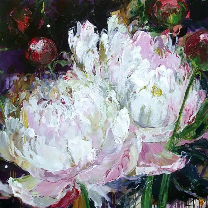 她一生爱花,惜花,种花,一辈子都在画花插图43