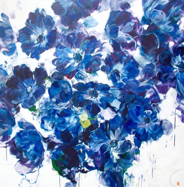 她一生爱花,惜花,种花,一辈子都在画花插图45