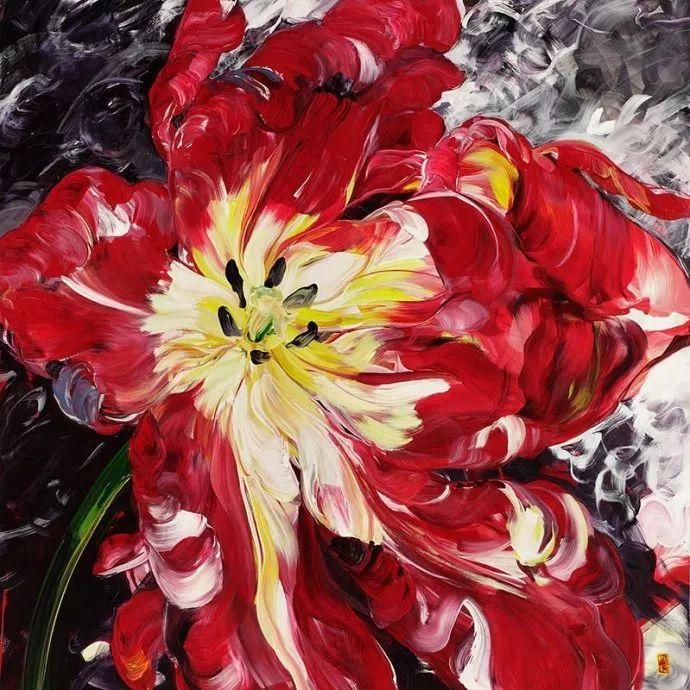 她一生爱花,惜花,种花,一辈子都在画花插图47