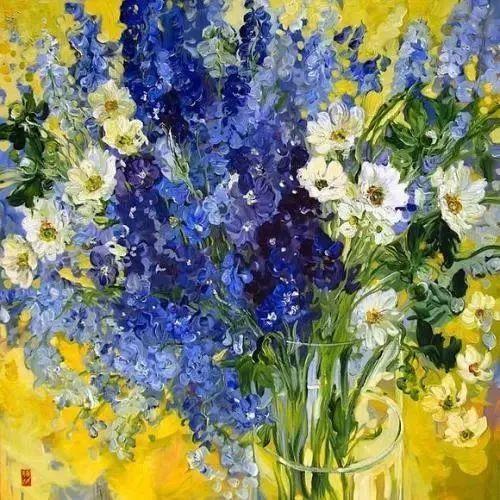 她一生爱花,惜花,种花,一辈子都在画花插图49