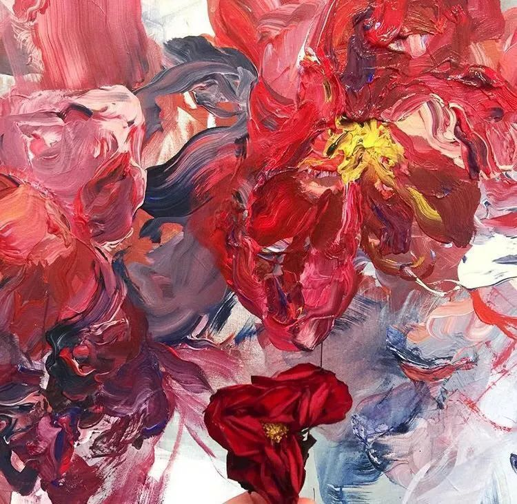 她一生爱花,惜花,种花,一辈子都在画花插图51