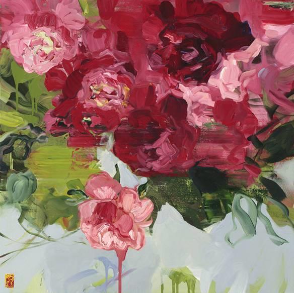 她一生爱花,惜花,种花,一辈子都在画花插图53