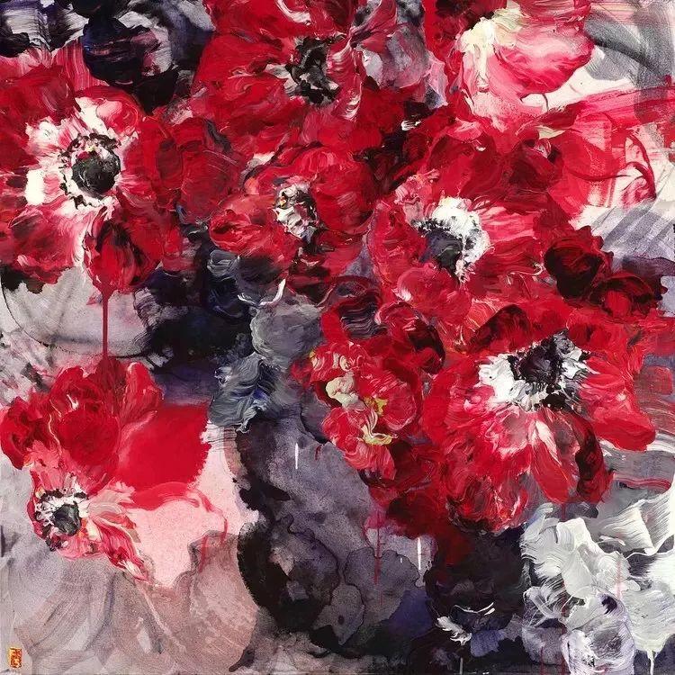 她一生爱花,惜花,种花,一辈子都在画花插图55