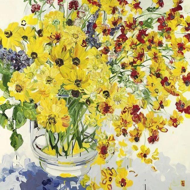 她一生爱花,惜花,种花,一辈子都在画花插图59