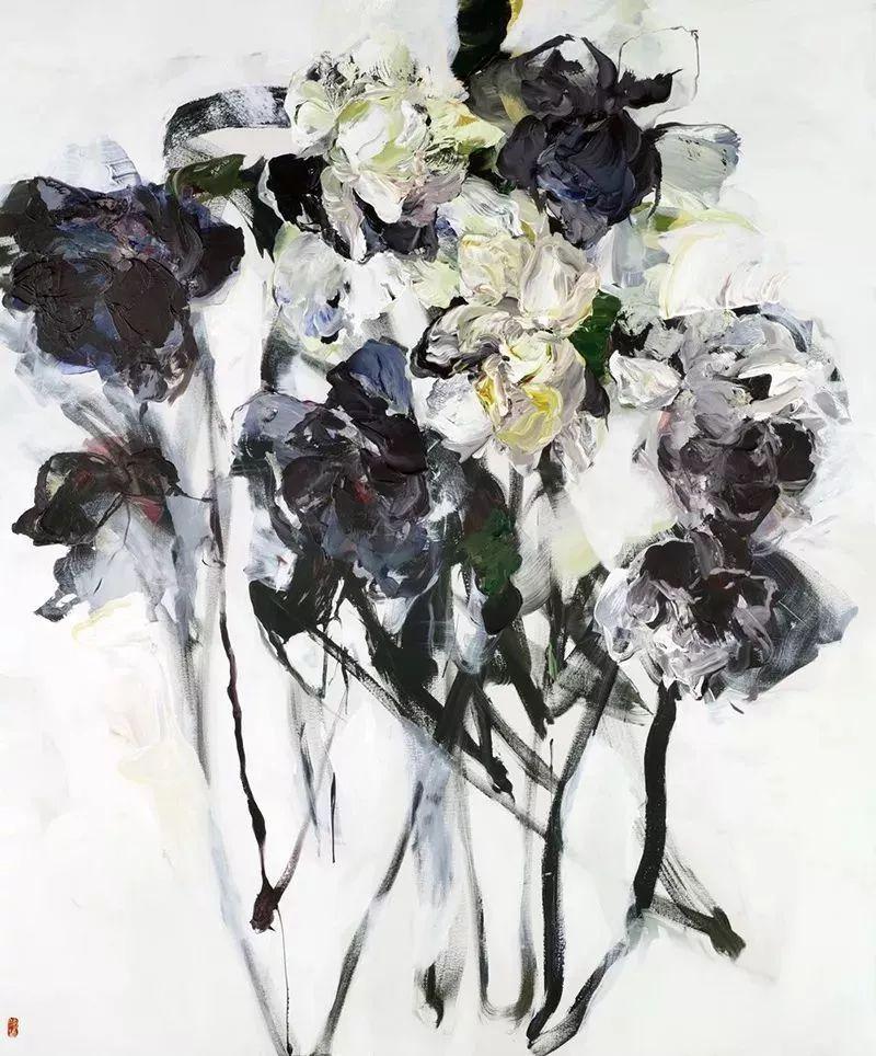 她一生爱花,惜花,种花,一辈子都在画花插图61