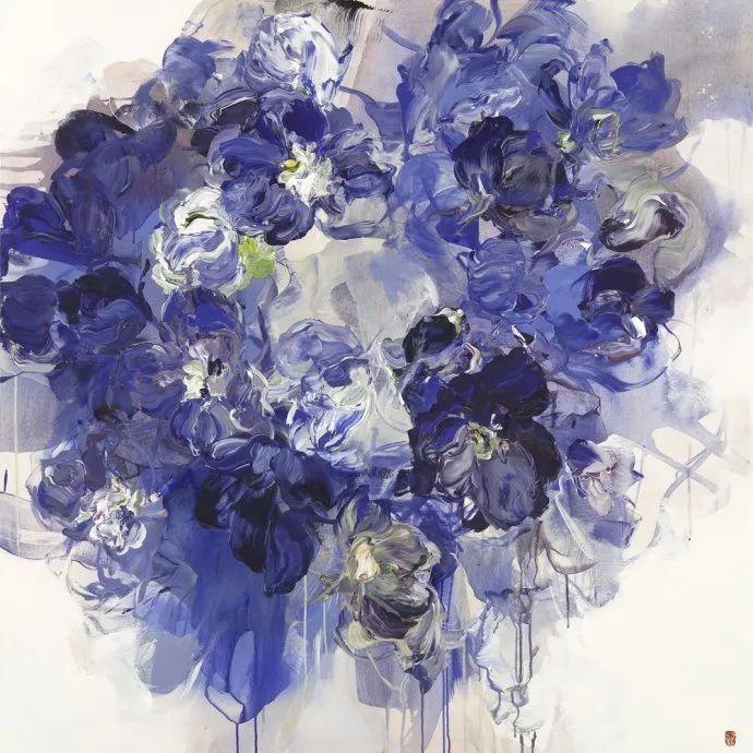 她一生爱花,惜花,种花,一辈子都在画花插图67