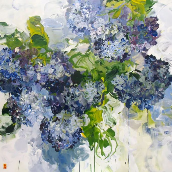她一生爱花,惜花,种花,一辈子都在画花插图69