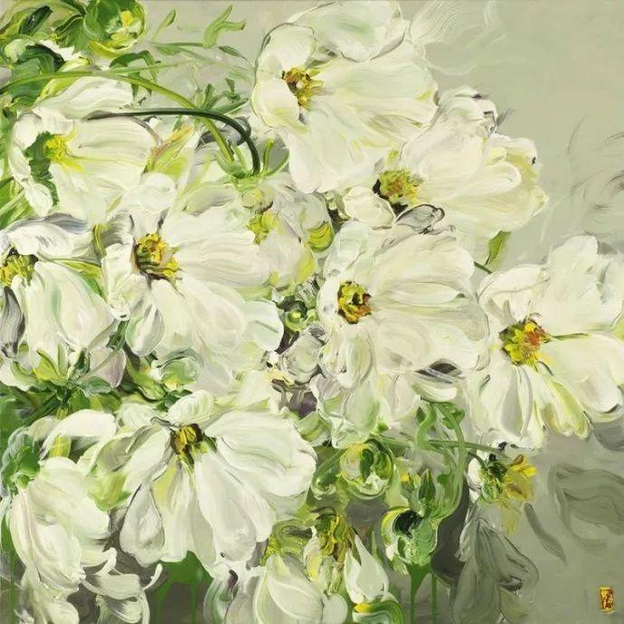 她一生爱花,惜花,种花,一辈子都在画花插图71