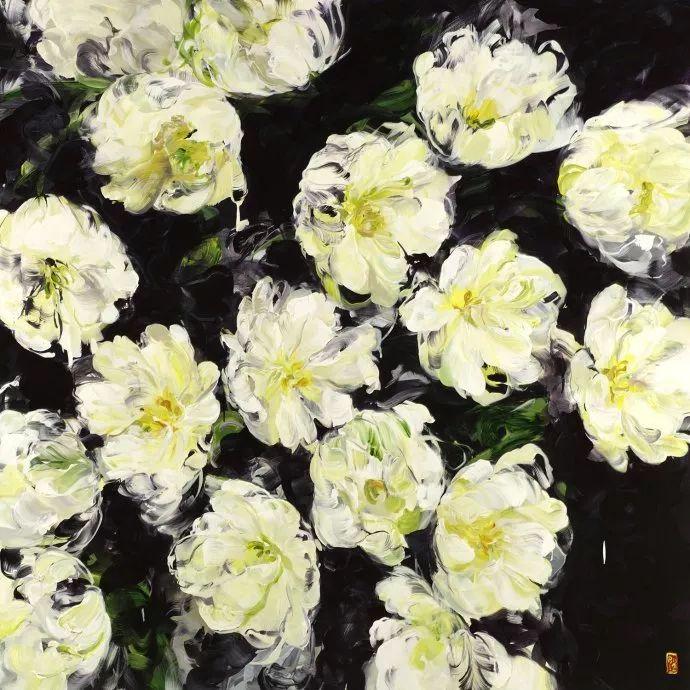 她一生爱花,惜花,种花,一辈子都在画花插图73