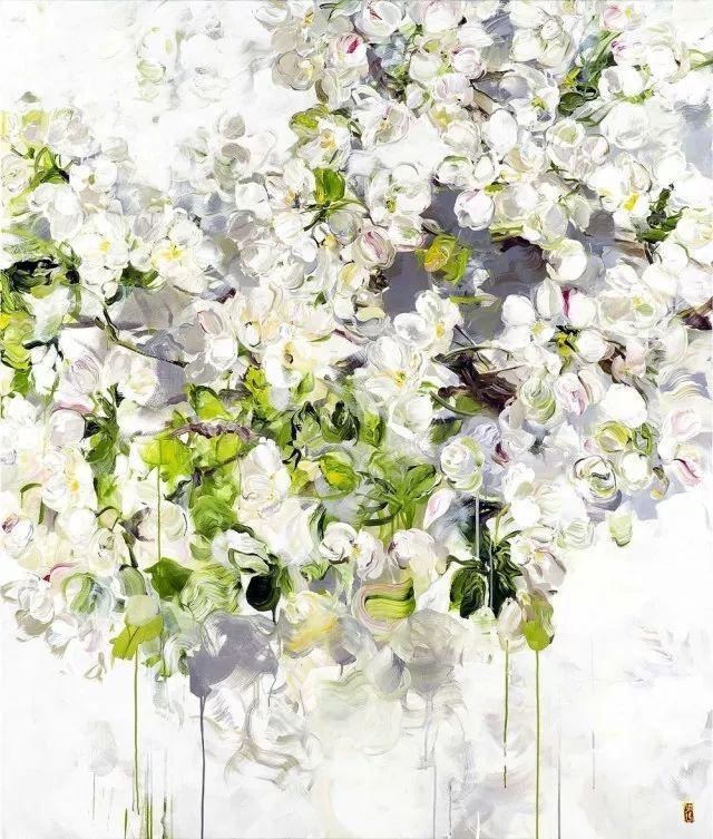 她一生爱花,惜花,种花,一辈子都在画花插图75