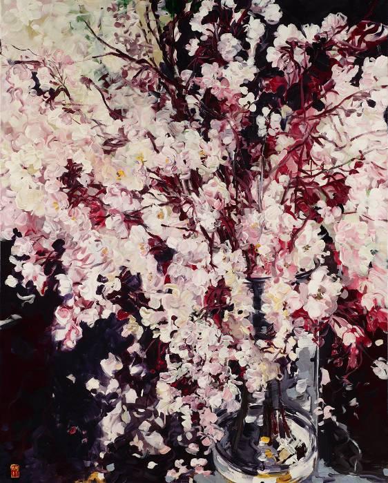 她一生爱花,惜花,种花,一辈子都在画花插图81