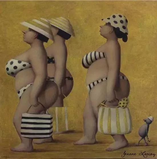 艺术视角里的美满——肥臀油画插图3