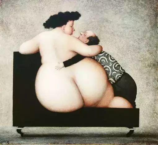 艺术视角里的美满——肥臀油画插图5