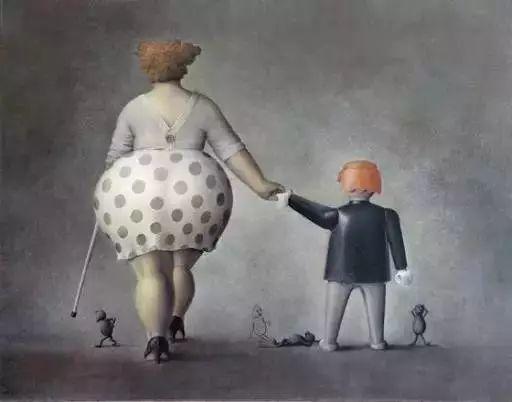 艺术视角里的美满——肥臀油画插图7