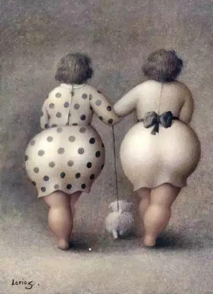 艺术视角里的美满——肥臀油画插图17