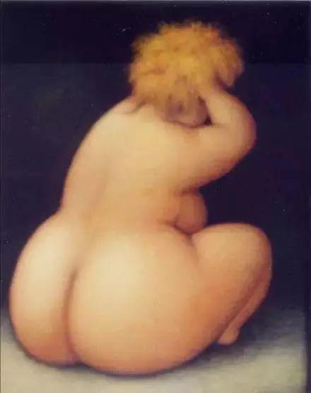 艺术视角里的美满——肥臀油画插图19