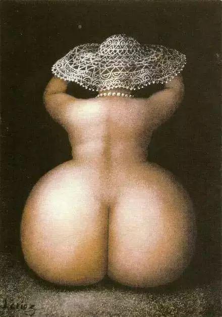 艺术视角里的美满——肥臀油画插图25