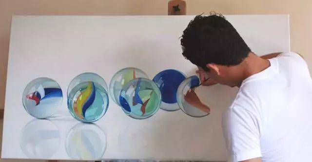 三位高手的超精微油画 最年轻仅十六岁插图25