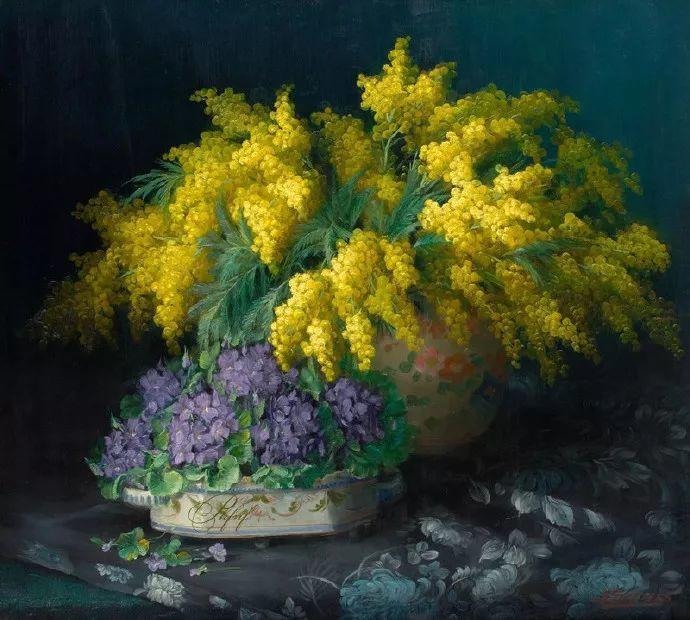 很赞!他笔下的刺球花与绣球花——Julien Stappers插图1