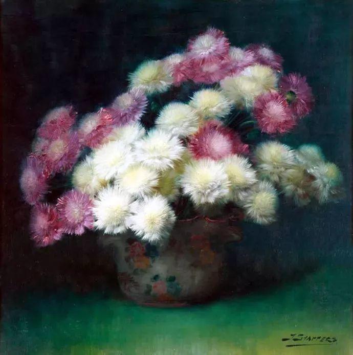 很赞!他笔下的刺球花与绣球花——Julien Stappers插图43