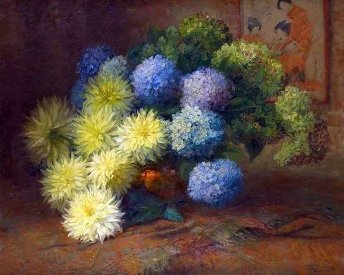 很赞!他笔下的刺球花与绣球花——Julien Stappers插图45