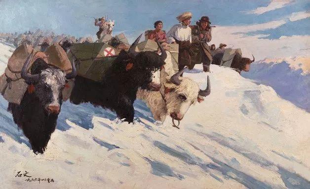 中国美术馆典藏近百幅油画欣赏插图4