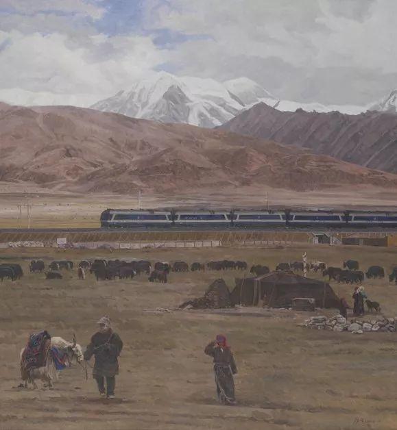 中国美术馆典藏近百幅油画欣赏插图13