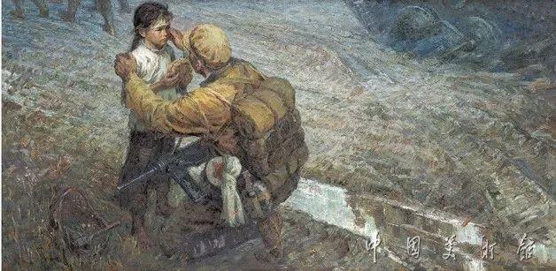 中国美术馆典藏近百幅油画欣赏插图16