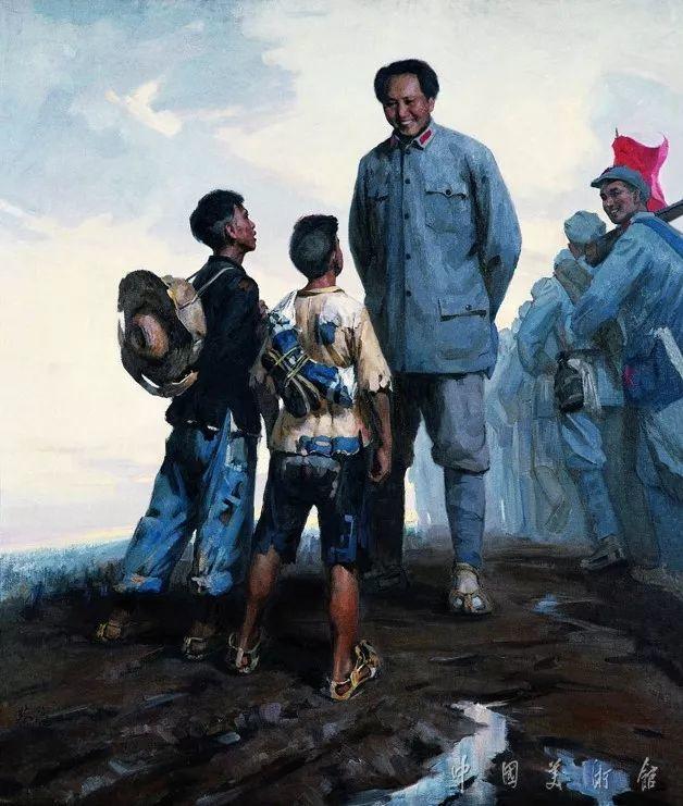 中国美术馆典藏近百幅油画欣赏插图18