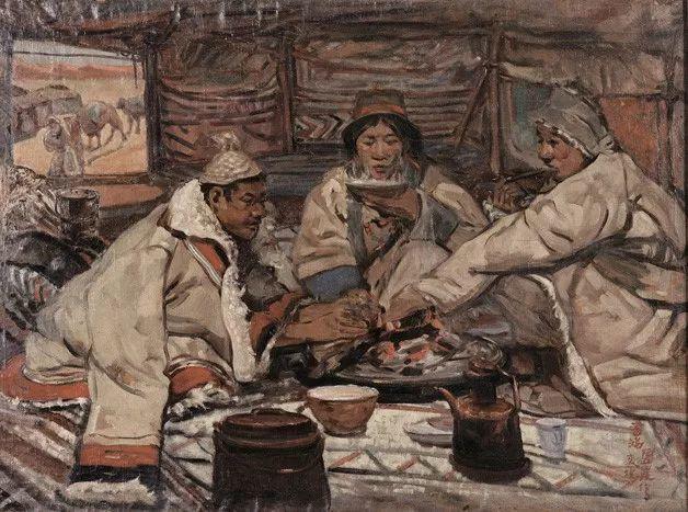中国美术馆典藏近百幅油画欣赏插图28